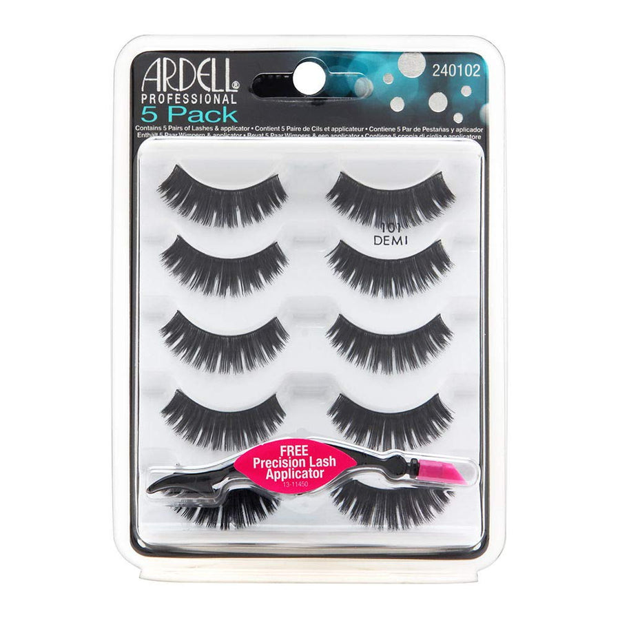 5 Pack 101 Demi Lashes - BEAUTYBEEZ