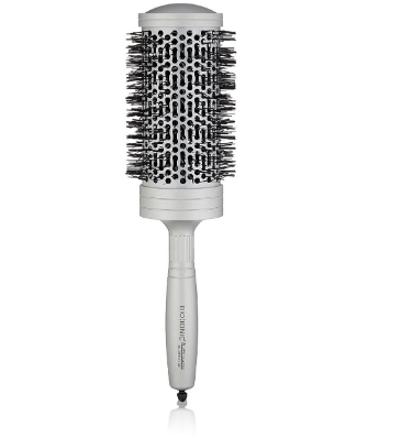 Silver Classic Round Brush Large 1-3/4 inches - BEAUTYBEEZ