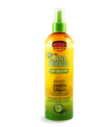 Olive Miracle Anti-Breakage Formula Braid Sheen Spray - BEAUTYBEEZ