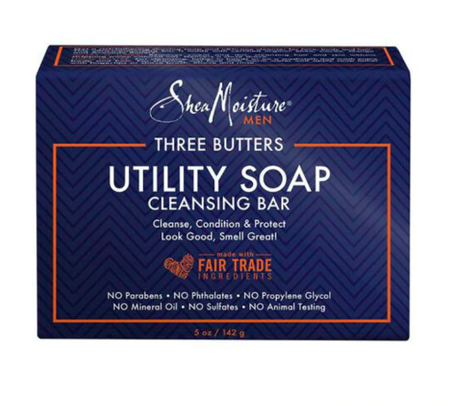 Three Butters Utility Soap Cleansing Butter Cleansing Bar - BEAUTYBEEZ-beauty-supply