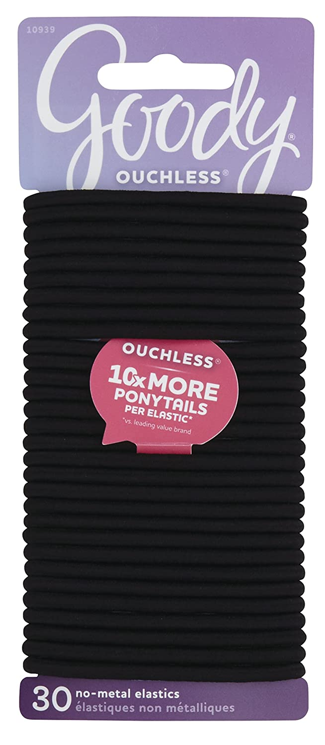 Ouchless Braided Elastics 32ct - BEAUTYBEEZ