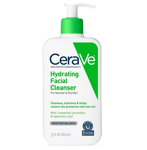 Hydrating Facial Cleanser For Normal To Dry Skin 12 oz - BEAUTYBEEZ