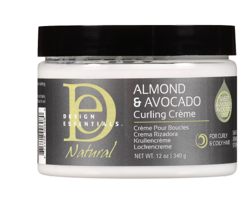 Almond & Avocado Curling Creme 12 oz Curl Definer - BEAUTYBEEZ-beauty-supply