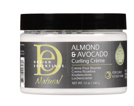 Almond & Avocado Curling Creme 12 oz - BEAUTYBEEZ