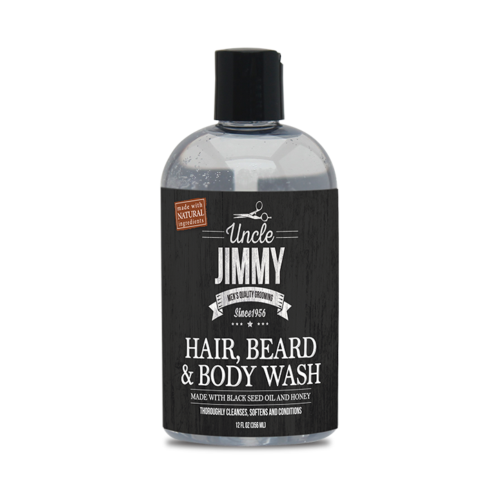 Uncle Jimmy Hair, Beard & Body Wash - BEAUTYBEEZ