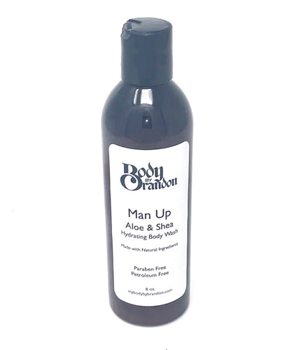 Man Up Aloe & Shea Hydrating Body Wash Body Wash - BEAUTYBEEZ-beauty-supply