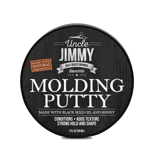 Uncle Jimmy Molding Putty Haircare - BEAUTYBEEZ-beauty-supply