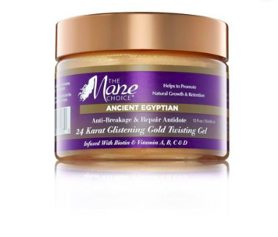 Ancient Egyptian 24 Karat Glistening Gold Twisting Gel Styling Gel - BEAUTYBEEZ-beauty-supply