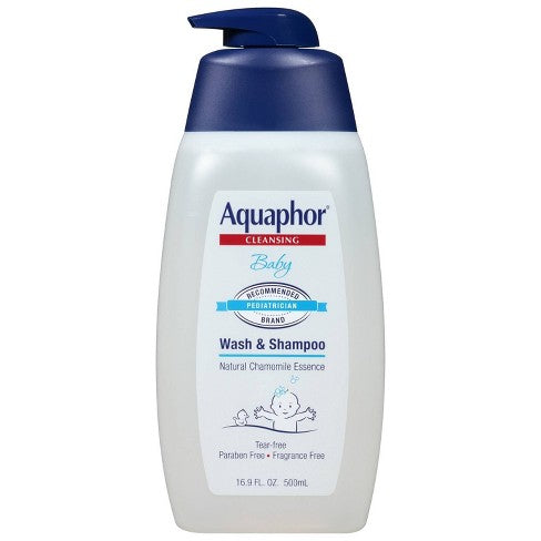 Aquaphor Baby Cleansing Wash and Shampoo - BEAUTYBEEZ