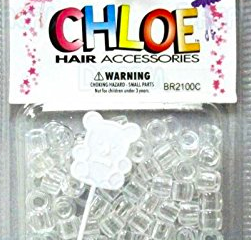 Hair Accessories Beads(Clear Multi) - BEAUTYBEEZ