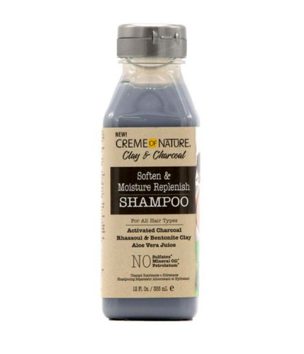 Clay and Charcoal Soften and Moisture Replenish Shampoo Moisturizing shampoo - BEAUTYBEEZ-beauty-supply
