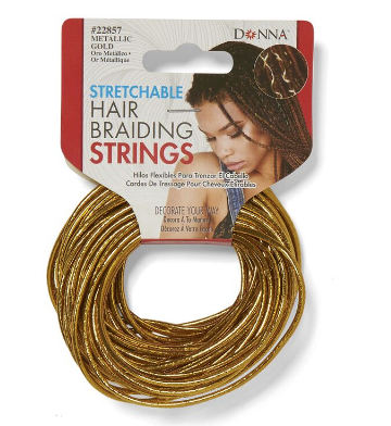Hair Braiding String Hair Jewelry - BEAUTYBEEZ-beauty-supply