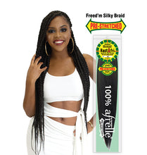 Load image into Gallery viewer, Freed'm Silky Braid Pre-Stretched Braiding Hair - BEAUTYBEEZ-beauty-supply