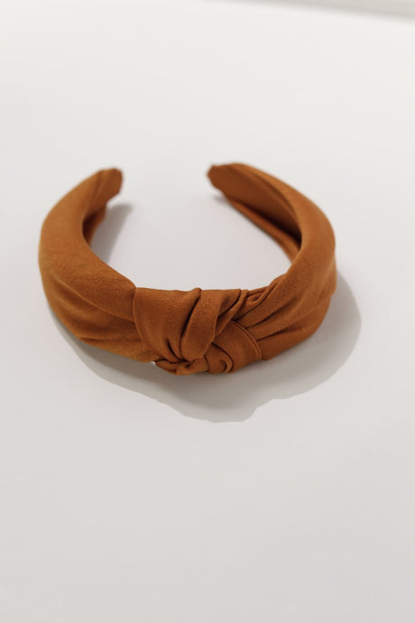 Orange Knot Hard Headband Headband - BEAUTYBEEZ-beauty-supply