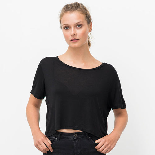 Womens Cropped Daintree Ecoviscose Tee