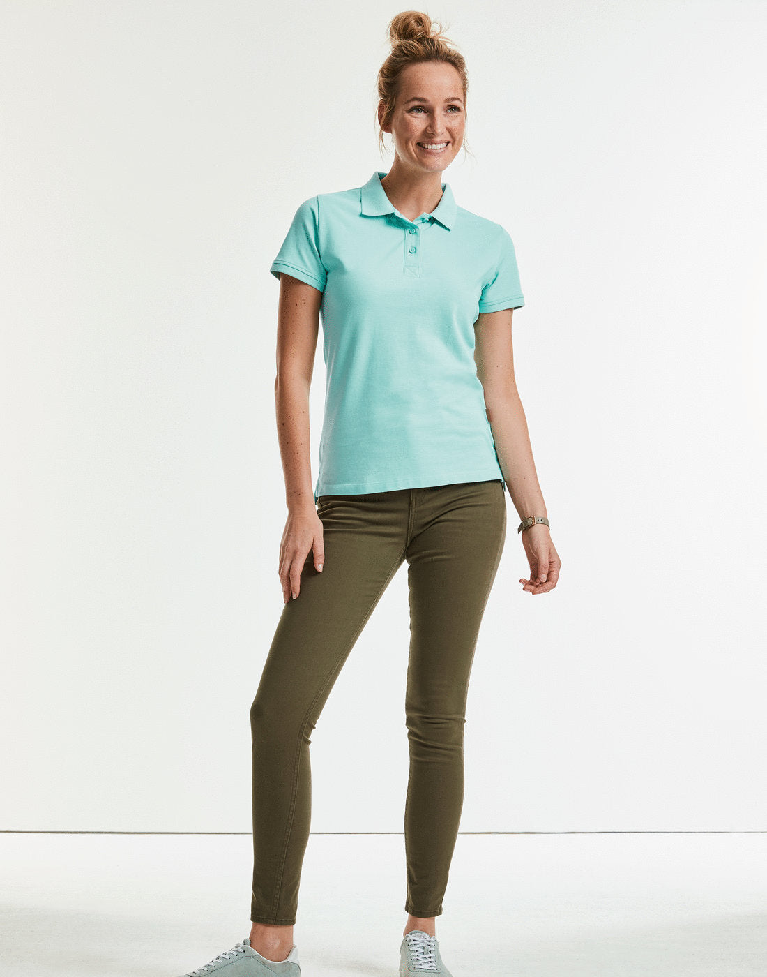 Russell Ladies' Pure Organic Polo