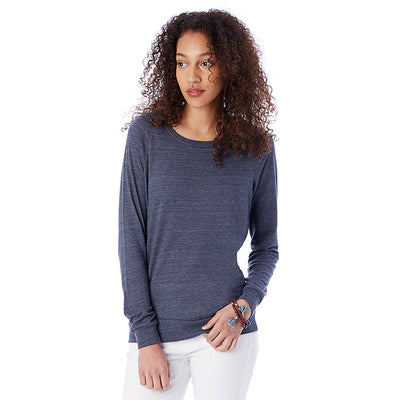 Womens Eco-jersey Slouchy Pullover