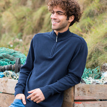 Load image into Gallery viewer, Wakhan 1/4 Zip Knit Sweater