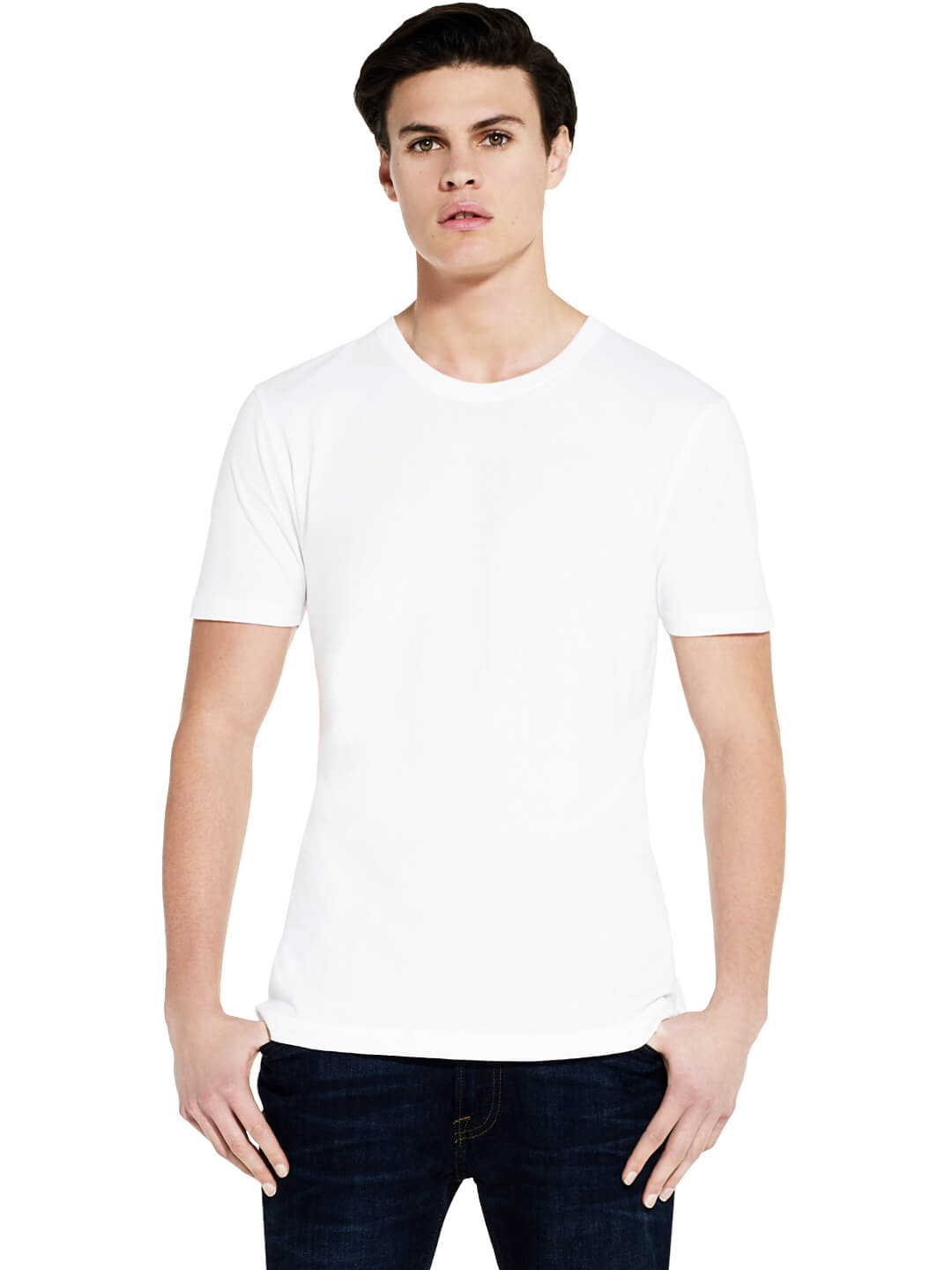 Slim Fit Organic Cotton T-shirt: Earth Positive