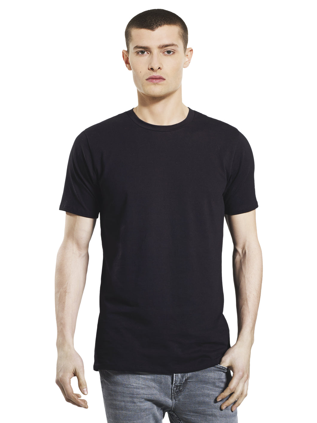 Stretch Organic Cotton T-shirt: Earth Positive