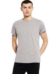 Rolled Sleeve Organic Cotton T-shirt: Earth Positive