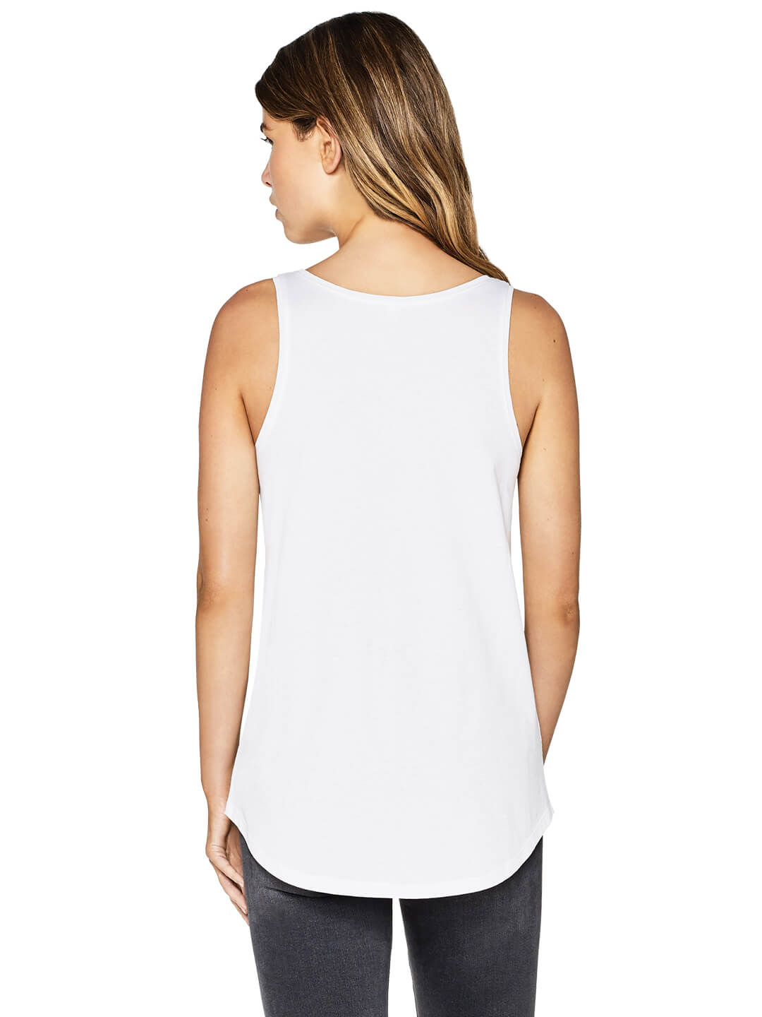 Organic Cotton Womens Vest: Earth Positive