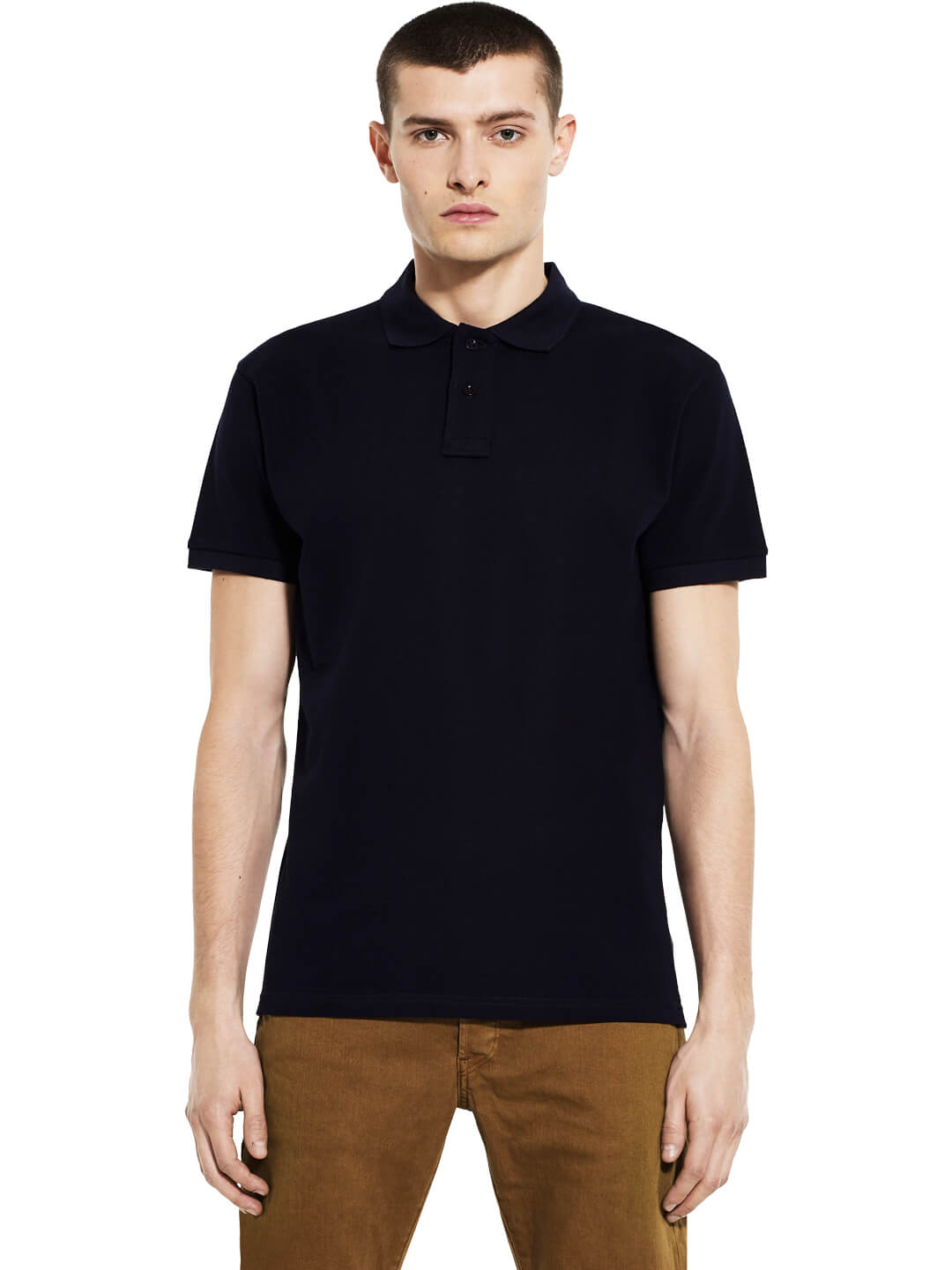 Organic Cotton Polo Shirt: Earth Positive