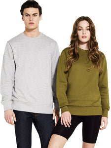 Organic Cotton Sweatshirt: Earth Positive