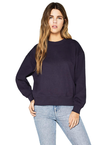 Organic Cotton Dropped Shoulder Sweatshirt: Womens Earth Positive