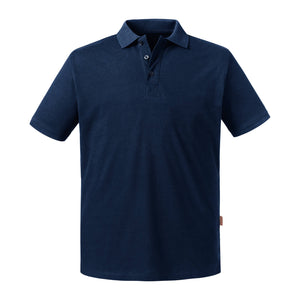 Russell Men's Pure Organic Polo