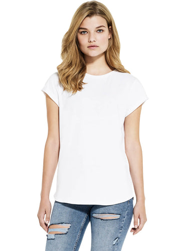 Salvage Womens Rolled Sleeve T-shirt
