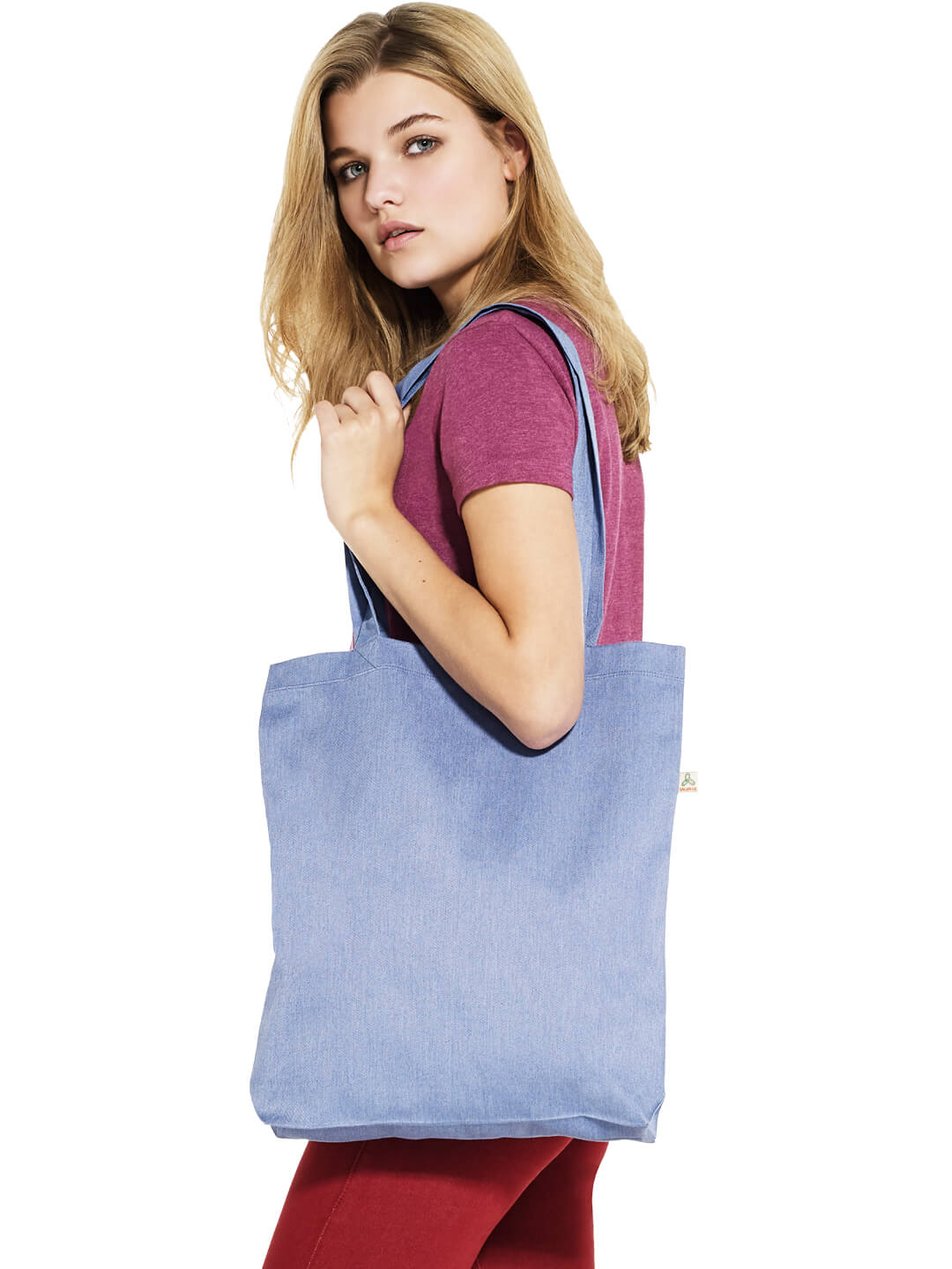 Recycled Shopper Tote Bag