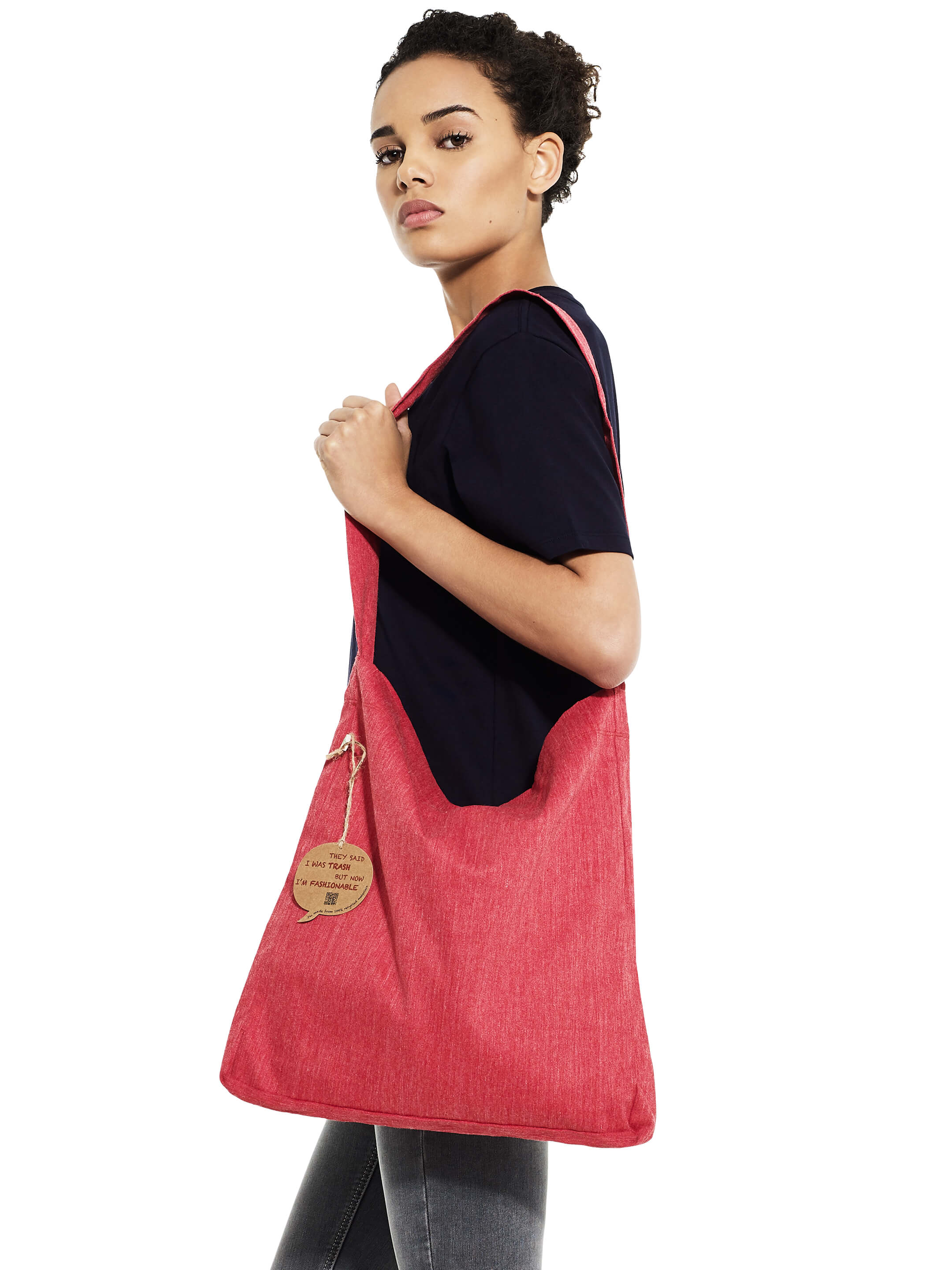 Recycled Tote Sling Bag