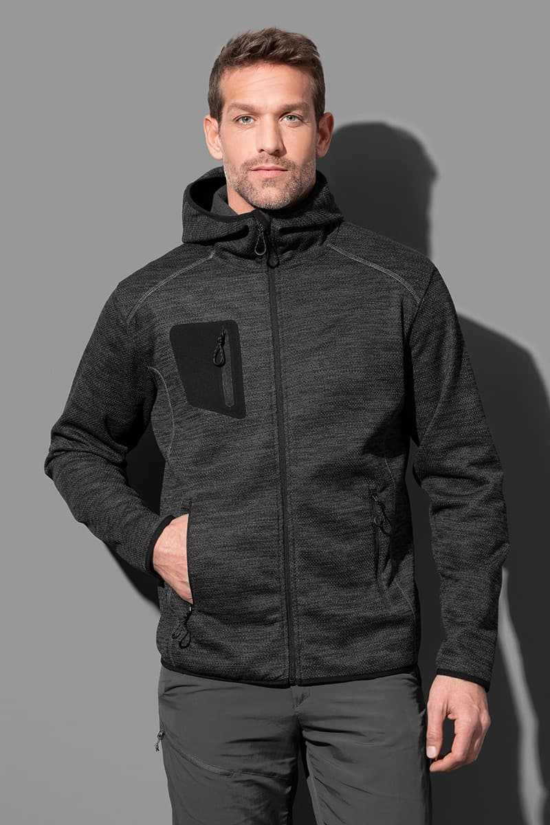 Recycled Hero Fleece Jacket Mens