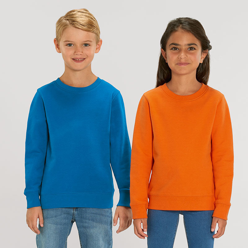 Kids Organic Crew Neck Sweatshirt