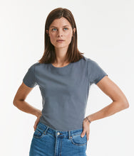 Load image into Gallery viewer, Russell Ladies Pure Organic Heavy Tee
