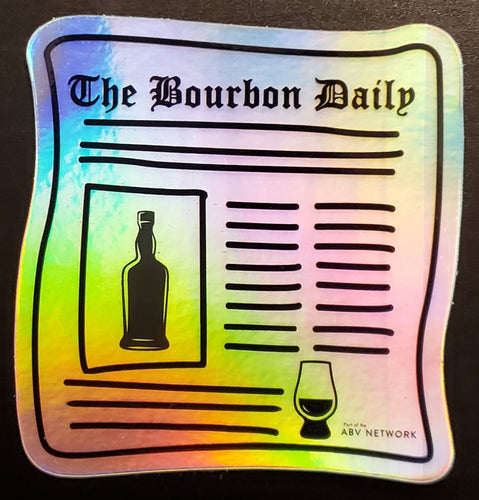 The Bourbon Daily Holographic Sticker