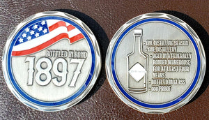 ABVNetwork Series 2 Challenge Coin - Bottled In Bond