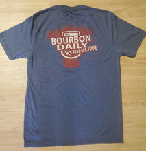 Load image into Gallery viewer, The Bourbon Daily 2018 Tour - Men's T-Shirt