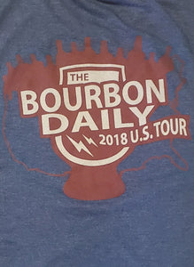 The Bourbon Daily 2018 Tour - Men's T-Shirt