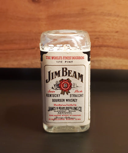 Mini Vintage Jim Beam Candle