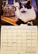 Load image into Gallery viewer, 2021 Distillery Cat Calendar