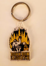 Load image into Gallery viewer, Bourbon Sasquatch Key Ring