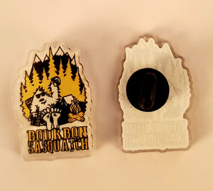 Bourbon Sasquatch Pin