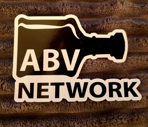 ABV Network Window Cling