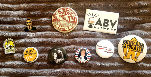 ABV Network Pin/Buttons Bundle