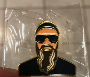 Colonel Steve Enamel Pin