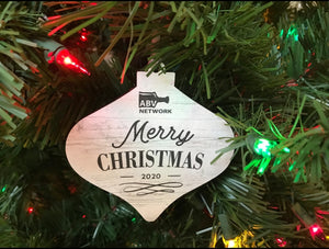 ABV Network 2020 Christmas Ornament