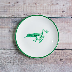 Tree Frog Plate in Green