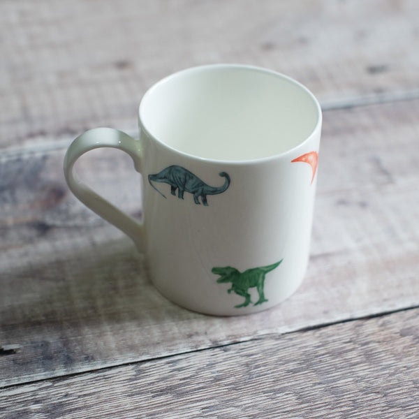 British made fine bone china dinosaur mugs. Shop our collection of dinosaur tableware.